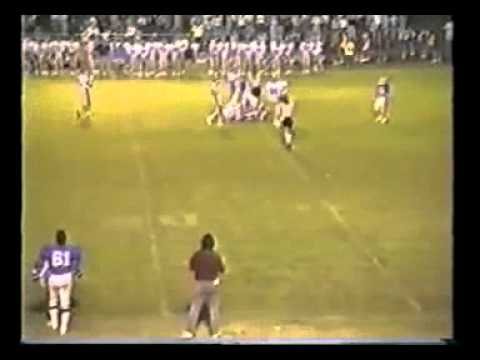 Bolton Wildcats Football 1987 #16 vs. Memphis University School