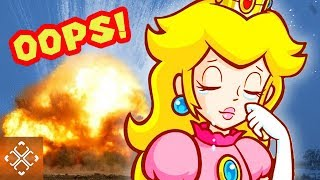 10 Seriously TERRIBLE Things Princess Peach Has Done