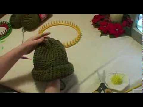 KNITTING ON DOUBLE POINTED NEEDLES VIDEO - YouTube