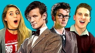 TEENS REACT TO DOCTOR WHO