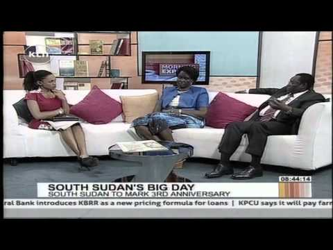 Morning express discussion South Sudan's big day of celebrating three years of independence