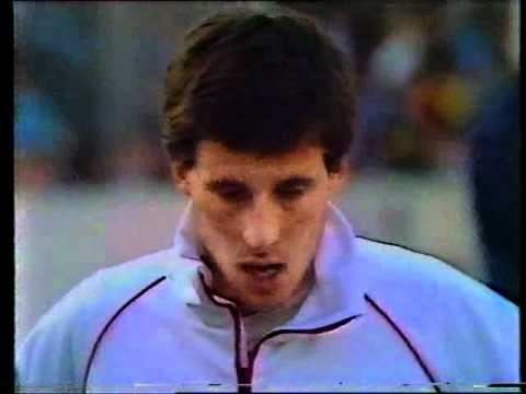 Seb Coe,  England v USA, 800m, London 1981.