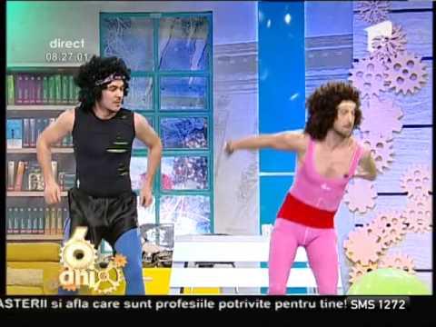 Răzvan și Dani, exerciții de fitness și multă distracție