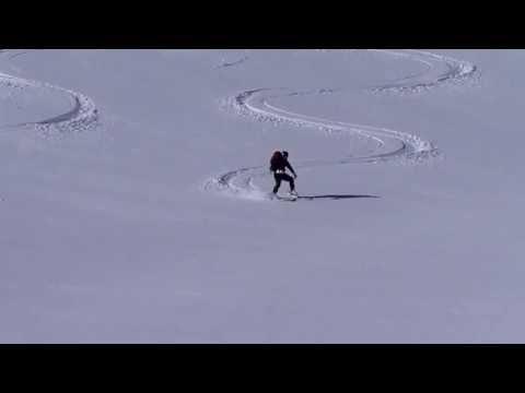 Descenso con esquís del Cap de la Lit