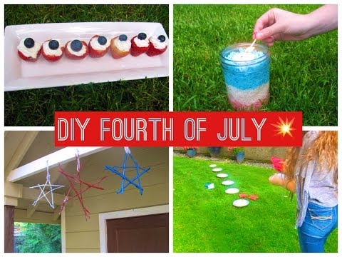 DIY Fourth of July Treats, Decorations, and Activities!