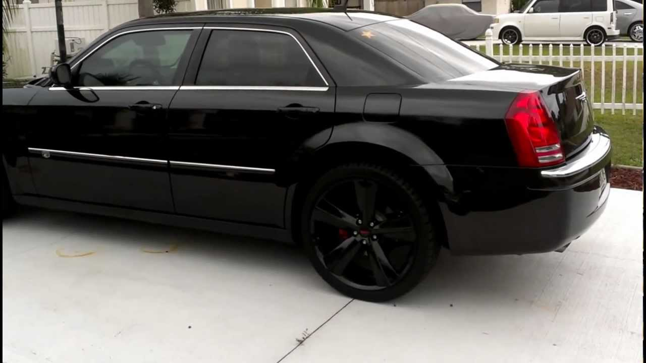 blacked out chrysler 300 srt8 design 2008 youtube. Black Bedroom Furniture Sets. Home Design Ideas
