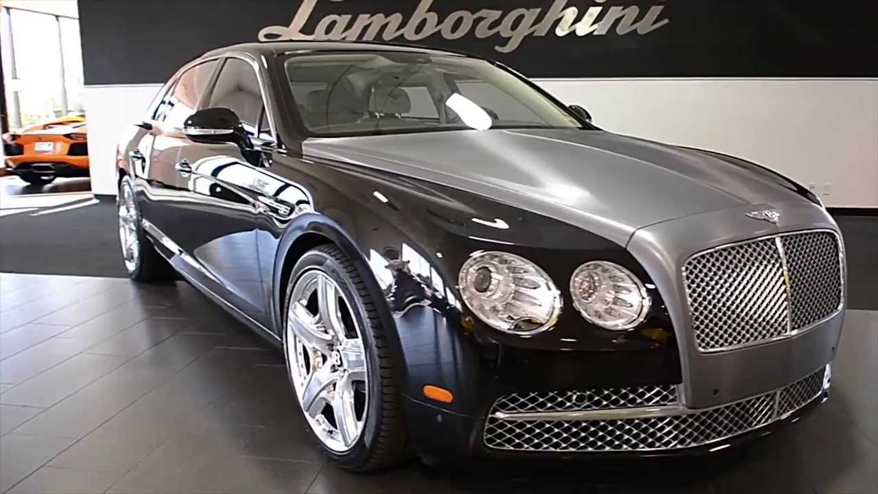 2014 Bentley Continental Flying Spur Onyx Black Lc275