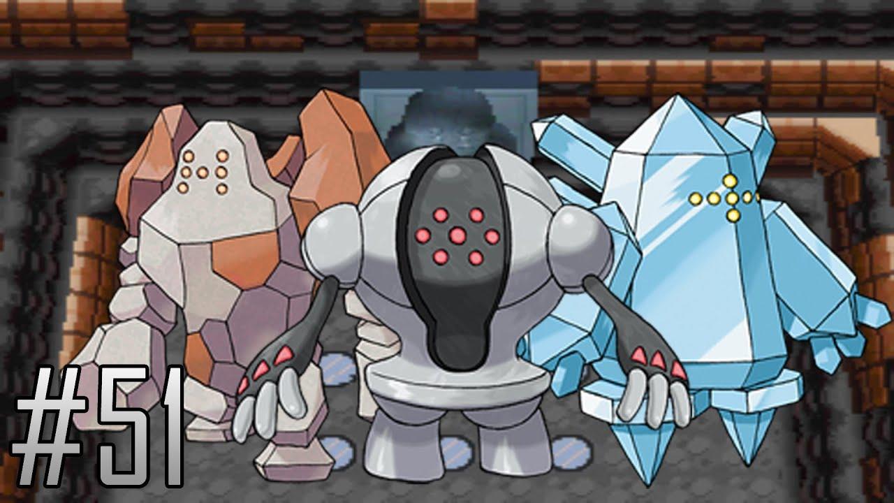 Pokemon platinum walkthrough part 51 the legendary golems youtube - Pokemon platine legendaire ...