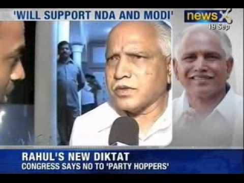 Narendra Modi for Prime Minister: Modi's BJP gets alliance from Yeddyurappa's KJP