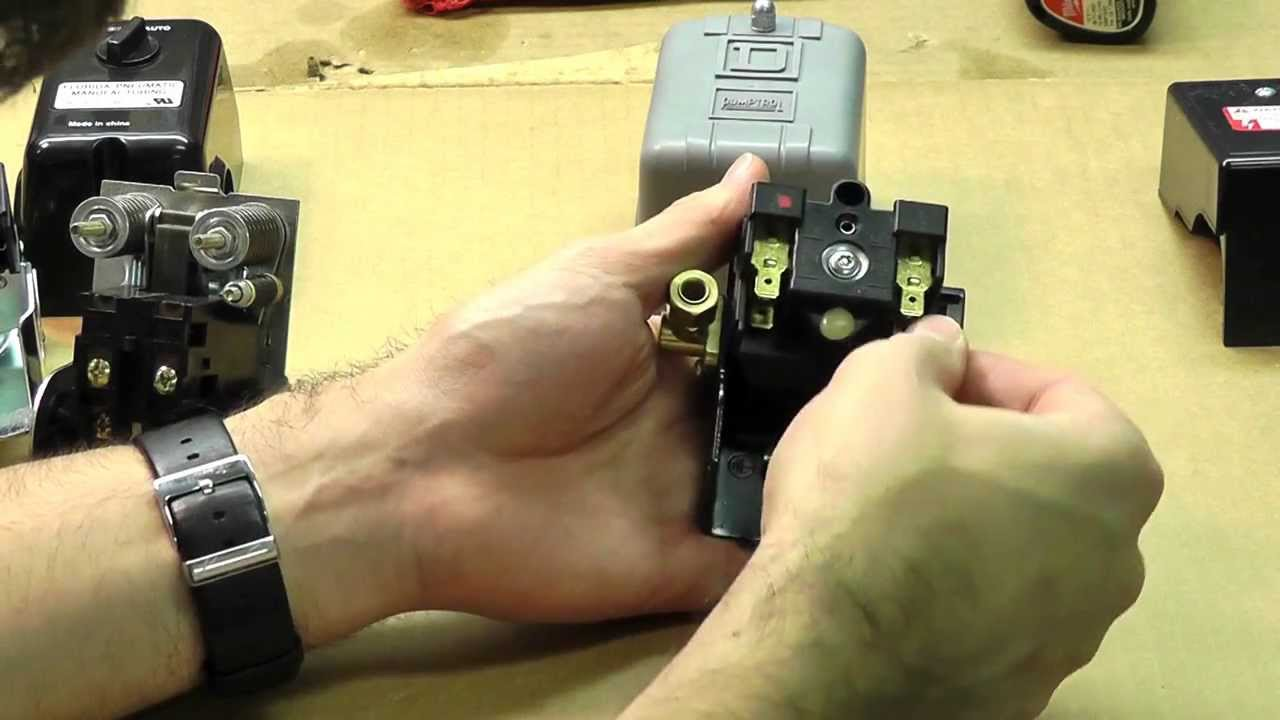 How To Adjust And Wire A Pressure Switch