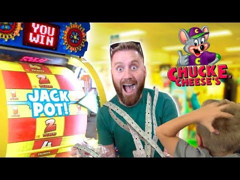 Chuck E Cheese Family Ticket Battle: Arcade Games & Family Fun!