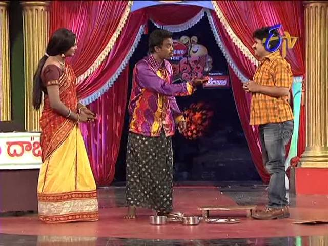 Jabardasth -  Rocket Raghava Performance on 20th February 2014