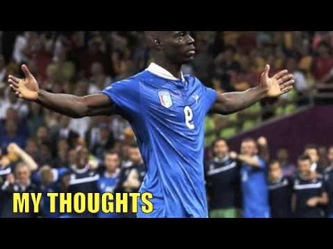 GOAL! Mario Balotelli Great Goal - Italy vs England 2-1 - World Cup - 2014