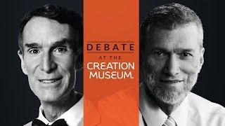 Bill Nye the Science Guy Debates Young-Earth Creationist Ken Ham