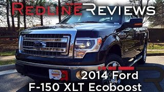 2014 Ford F-150 XLT Ecoboost Review, Walkaround, Exhaust