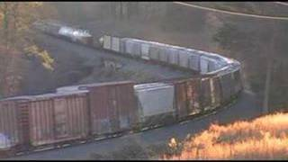 Norfolk Southern NS 118 Freight Train at Suwanee, GA