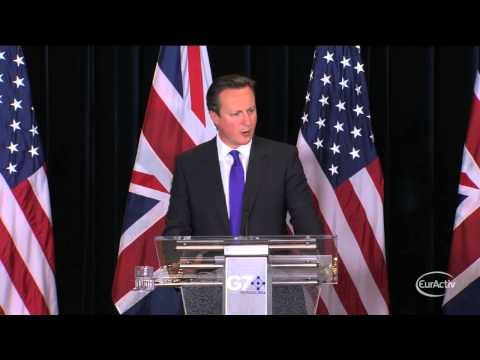 Cameron: I don't want to see Britain drifting towards an EU exit