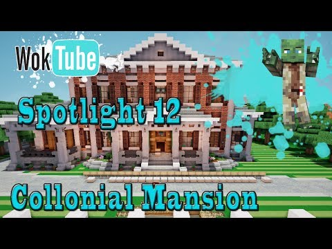 Minecraft Spotlight: Colonial Mansion by Tingusbangus