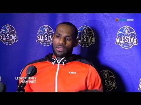 LeBron James On His Friendship With Carmelo Anthony