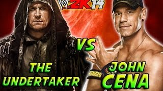 The Undertaker Vs John Cena Wrestlemania 30