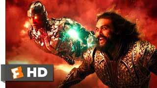 Justice League (2017) - Superhero Team Up Scene (7/10) | Movieclips