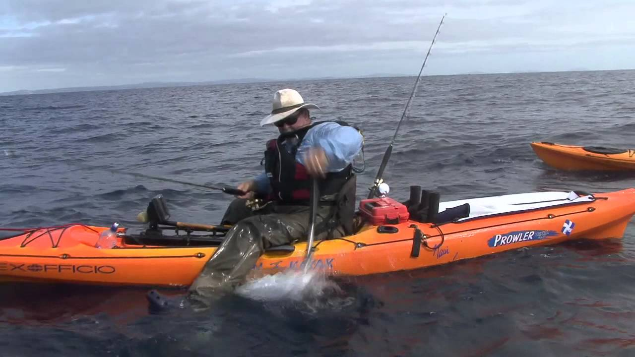 Kayak fishing protecting your gear youtube for Youtube kayak fishing