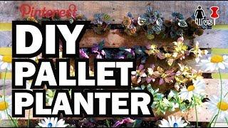 DIY Pallet Planter, Corinne VS Pin #35