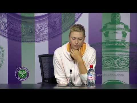Maria Sharapova: 'you never know what to expect' - Wimbledon 2014