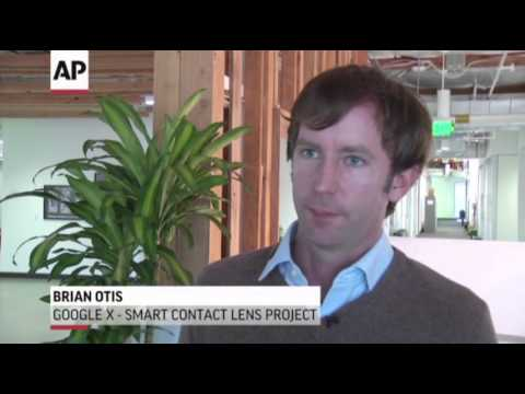 Google's Next Wearable Device-Smart Contact Lens