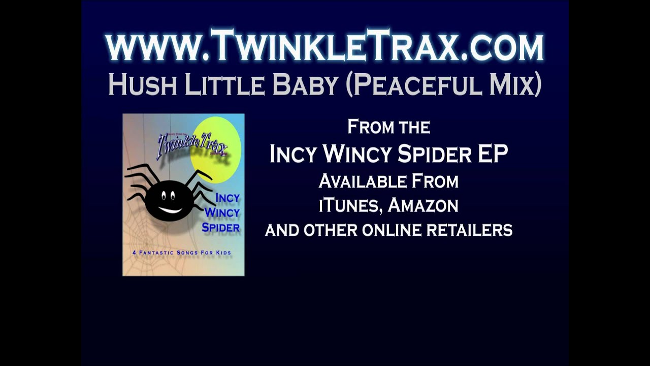 Hush little baby peaceful mix kids songs lullabies and nursery