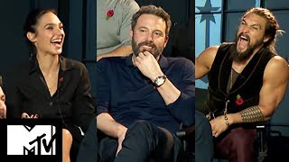Justice League Movie Cast Reveal Funniest Moments Together | MTV Movies