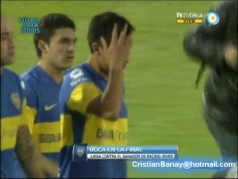 Boca 1 Deportivo Merlo 1 (5-4) Copa Argentina 2012 Los goles y penales (Audio Radio Mitre)