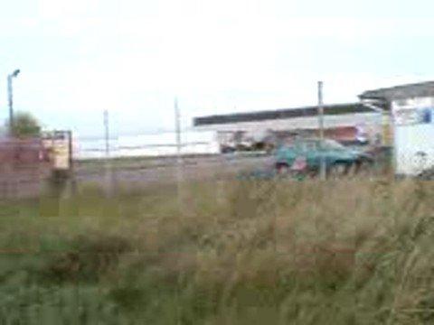 fabryka styropianu - widok z drogi