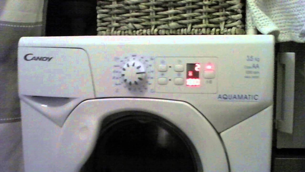 washing machine is loud