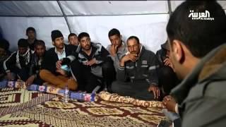 ليل معسكر نينوى لا يقل حركة عن يومه الطويل