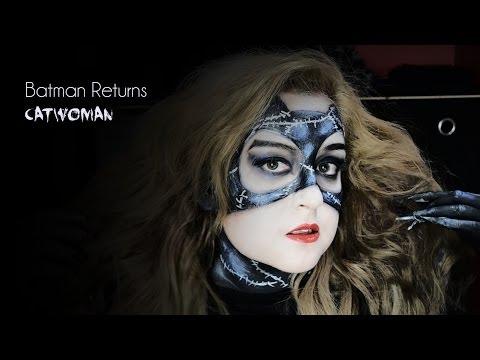 Meow! Catwoman/Gatubela Makeup Tim Burton Collab