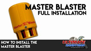 How to install the Master Blaster siren