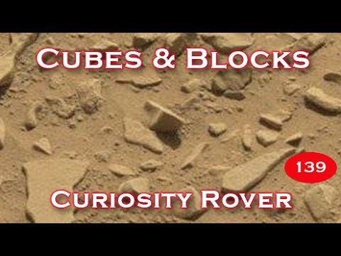 Cubes & Blocks Spotted On Mars By NASA's Curiosity Rover