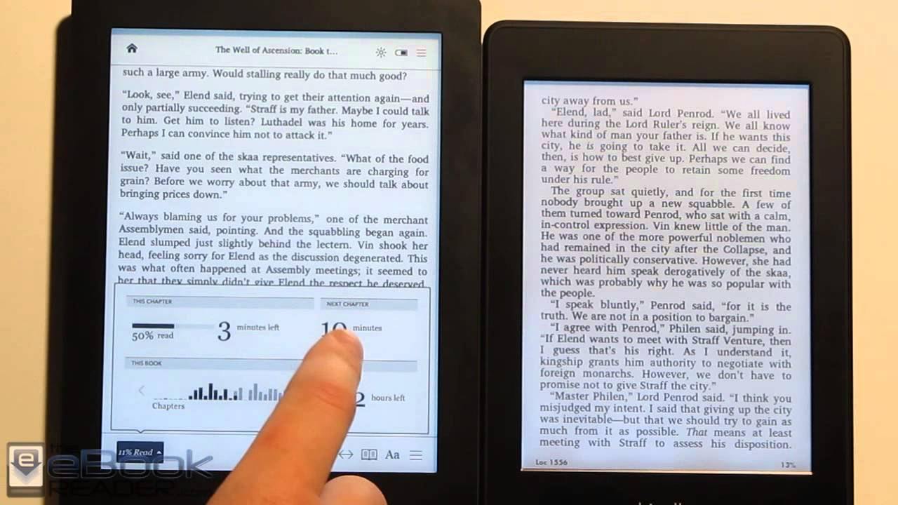 loose kindle conventional books