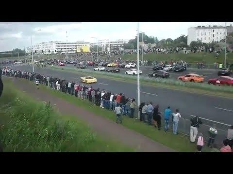 Wypadek Gran Turismo Polonia 30.06.2013 Poznań (moment uderzenia) [16+]