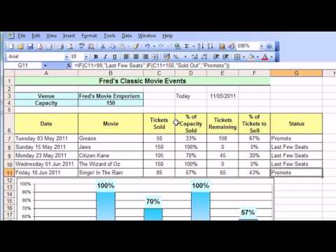 Microsoft Excel Tutorial for Beginners #21 - Date &amp; Time Pt.2 - Date Calculations