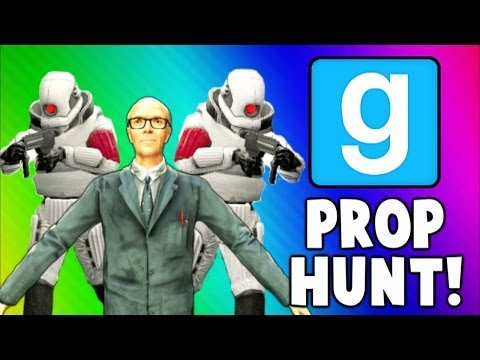 Gmod Prop Hunt Funny Moments - Get Out of my Kitchen, Running Sink, Microwave Shield (Garry's Mod)