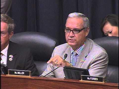 Congressman Jeff Miller Questions Secretary Chuck Hagel at House Armed Services Committee Hearing
