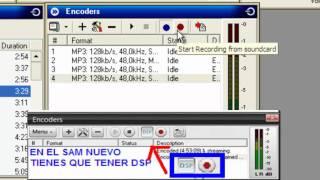 Como Usar SAM Broadcaster Y Sacar En Directo Por Skype