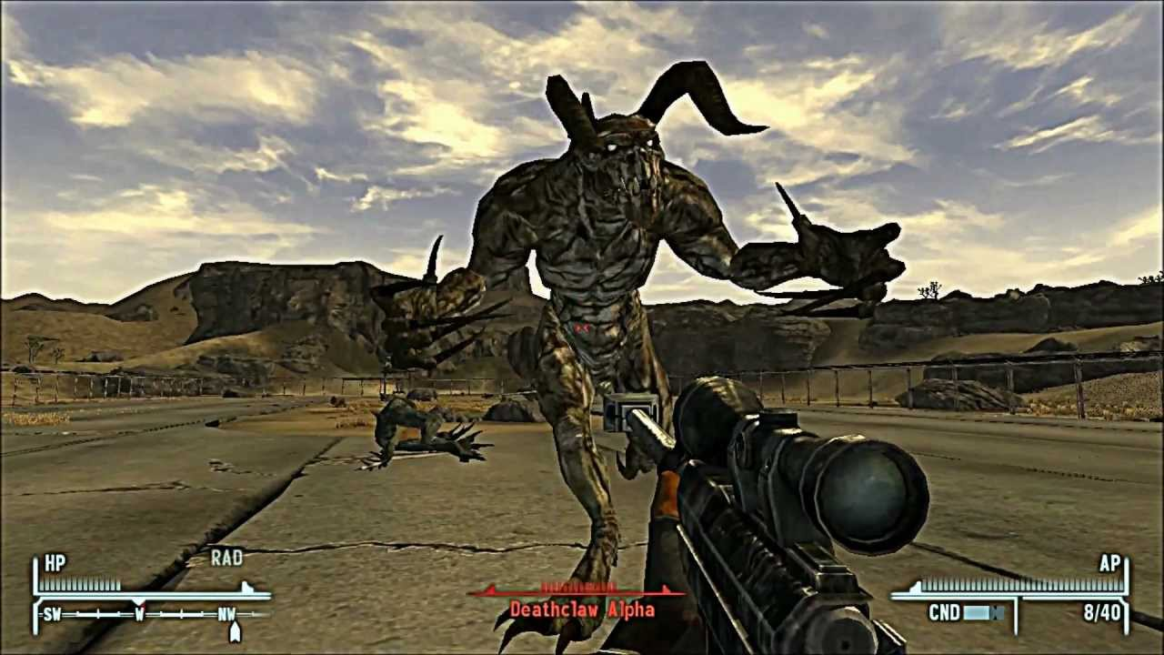 Legendary Deathclaw i mean the new vegas one