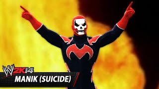 WWE 2K14 Community Showcase: Manik (Suicide) (PlayStation 3)