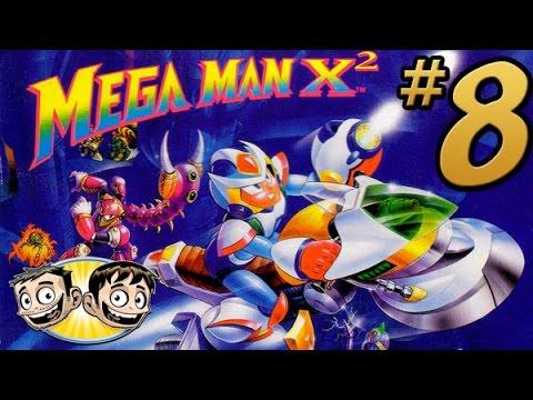 Mega Man X2 - PART 8 - Flame On! (Morph Moth Boss Fight) - BroBrahs