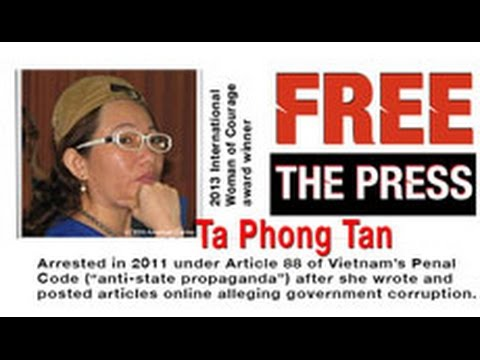 Mỹ đòi Việt Nam thả Tạ Phong Tần ngay lập tức
