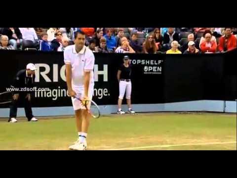 Stanislas Wawrinka vs García López Semifinal Hertogenbosch 2013 Great points