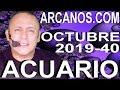 Video Horóscopo Semanal ACUARIO  del 29 Septiembre al 5 Octubre 2019 (Semana 2019-40) (Lectura del Tarot)